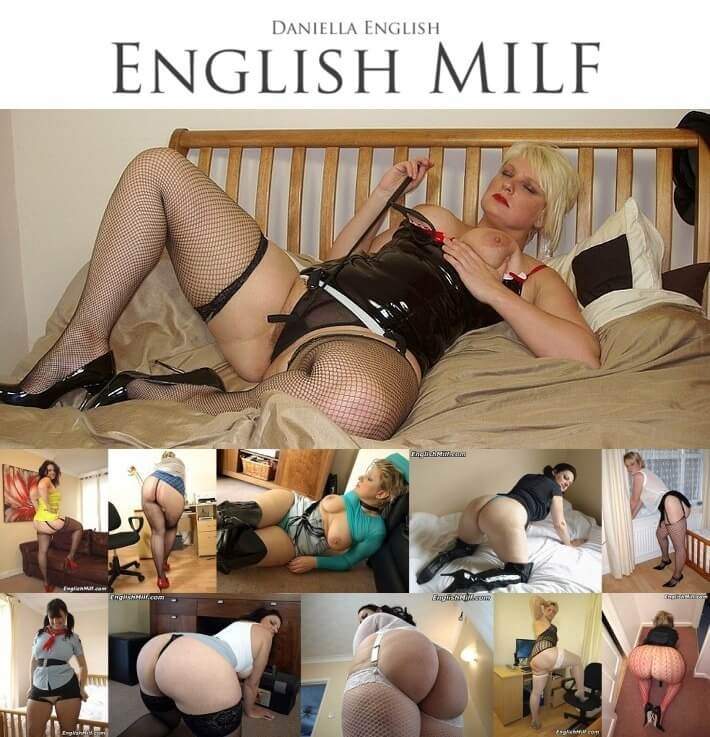 EnglishMilf SiteRip, Big Ass British Milf Daniella