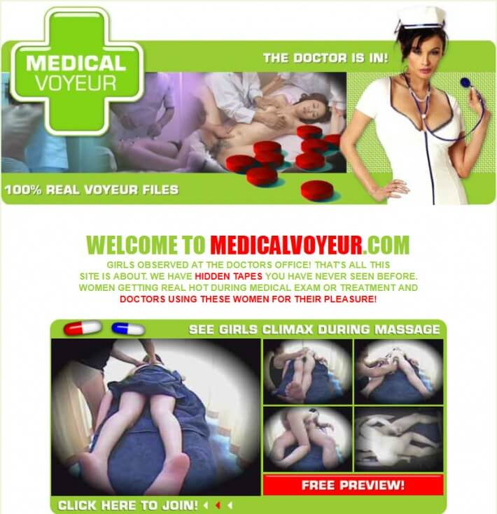 MedicalVoyeur SiteRip, Medical Examination