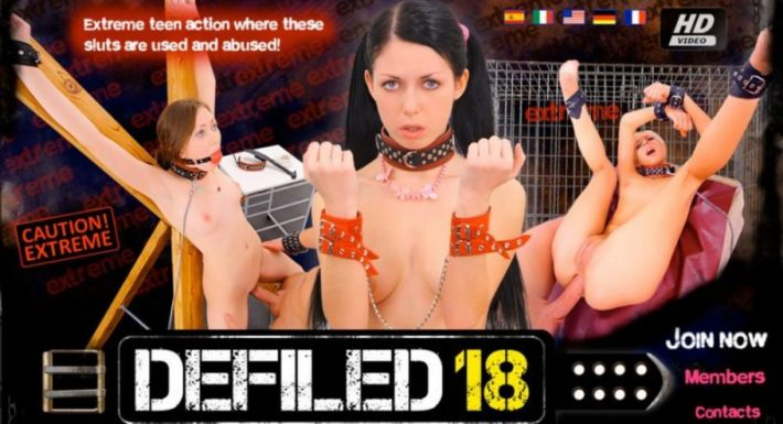 Defiled18 SiteRips, Extreme Teen Action
