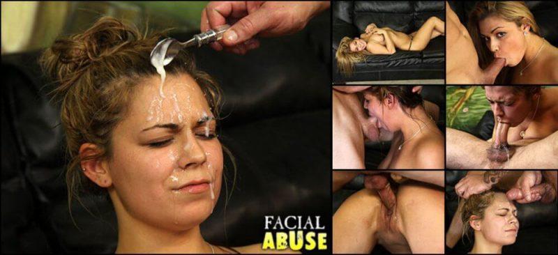 Abuse facial maria, women masturbating with porn