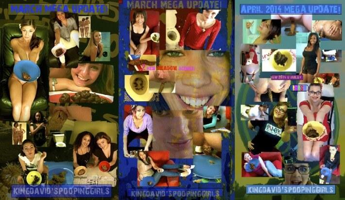 KingDavidsPoopingGirls SiteRip, scat girls