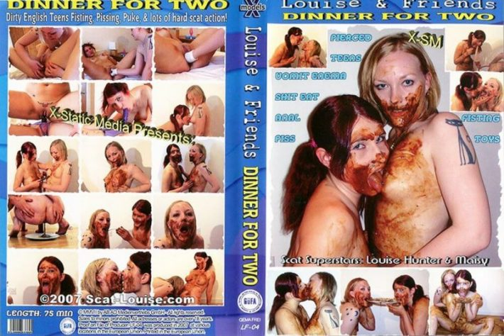 Louise & Friends, fisting vomit lesbian enema pissing 2