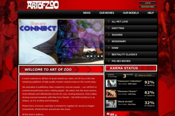 ArtOfZoo SiteRip - 56 Videos