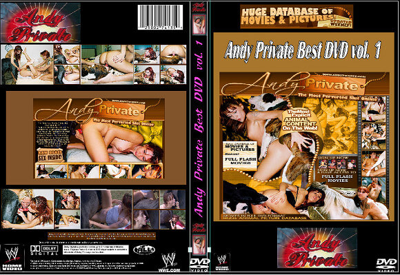 Andy Private – The Best DVD – 11 Videos