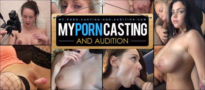 sex audition amateur with facial