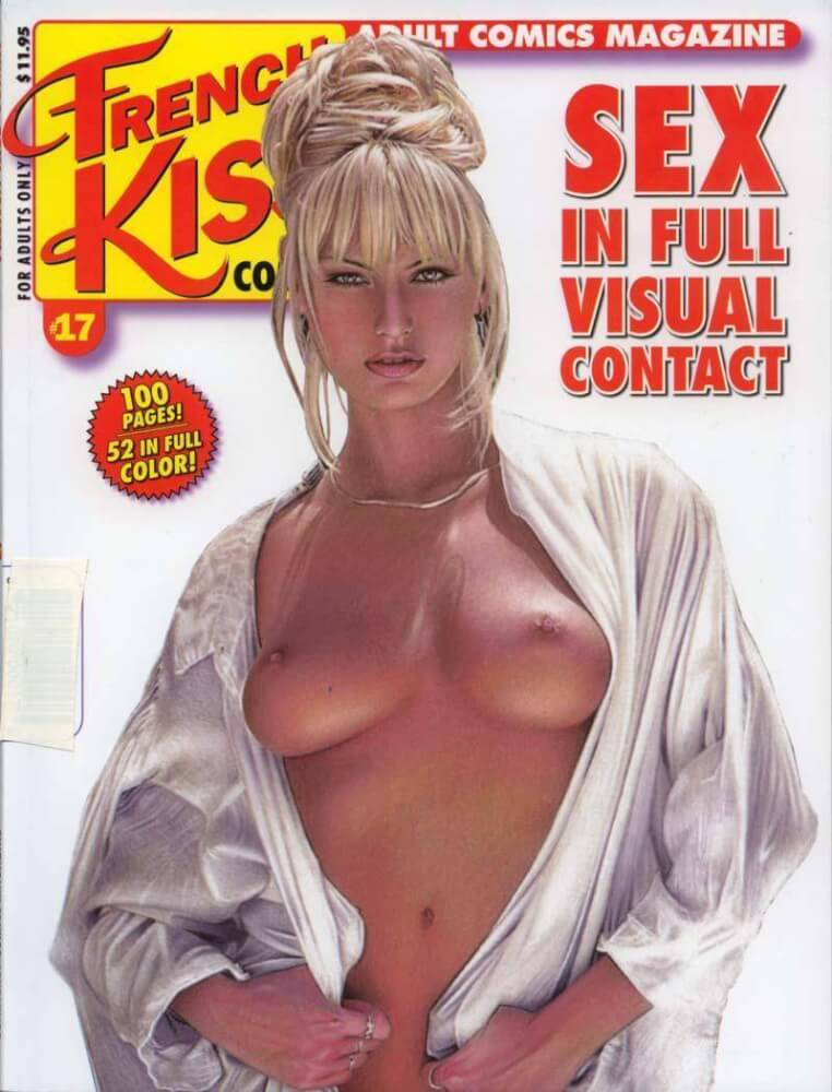 magazine kiss Adult french comic