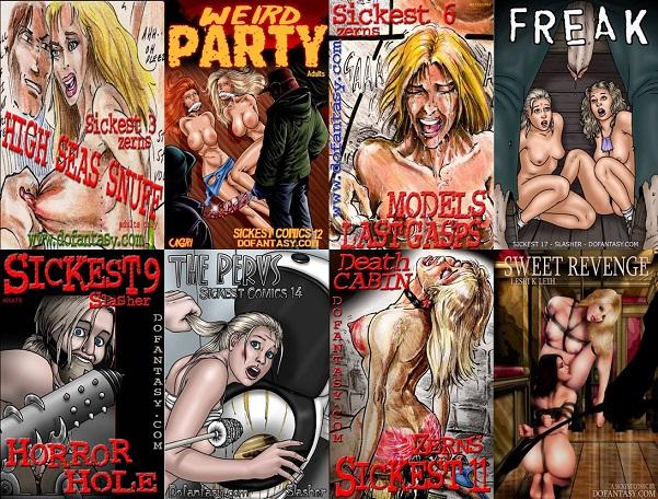 [DoFantasy] Fansadox Sickest Collection SiteRip - 17 Comics