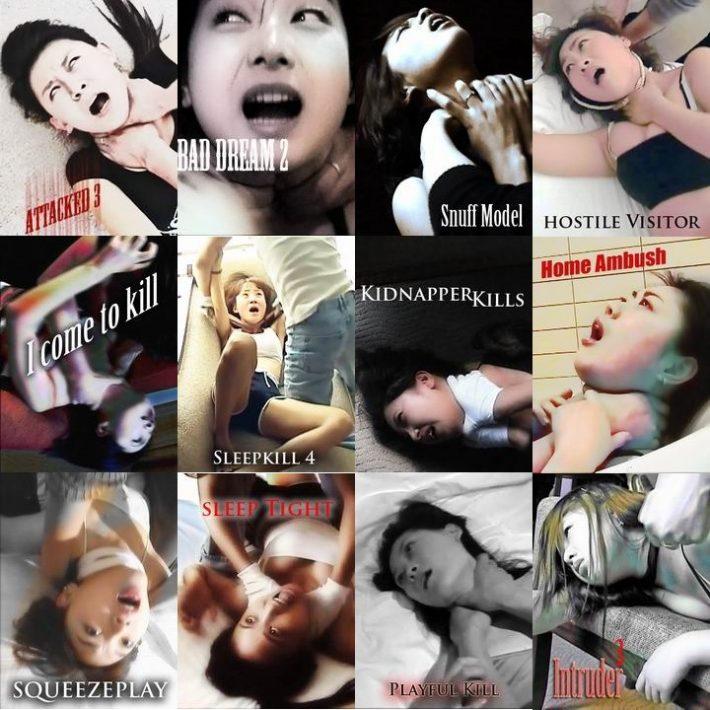 girls strangling