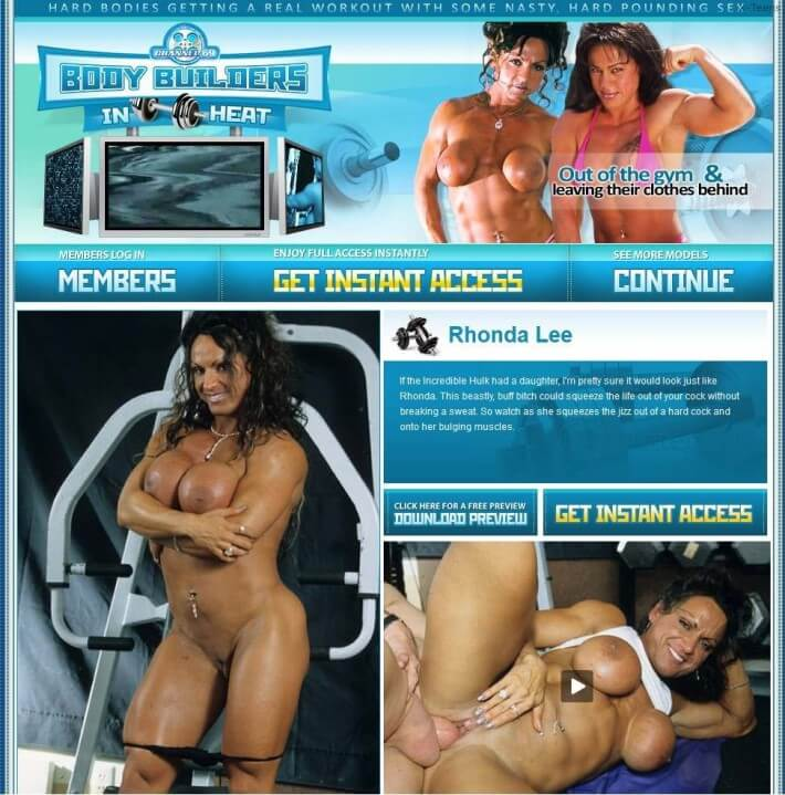 BodyBuildersInHeat SiteRip, Hardcore Naked Bodybuilders