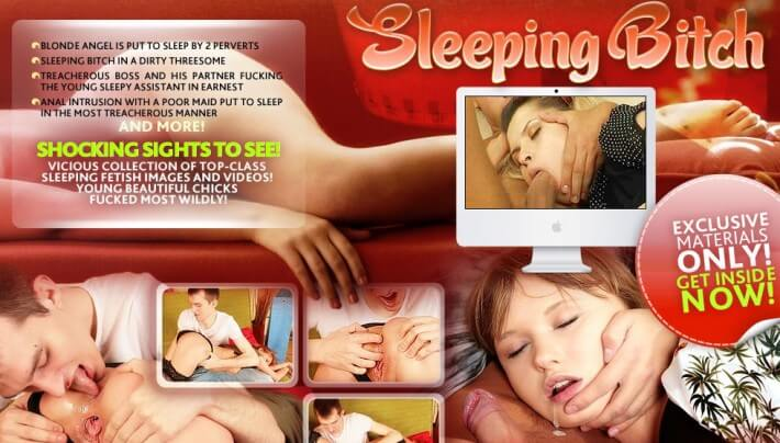 SleepingBitch SiteRip, Sleeping Fetish