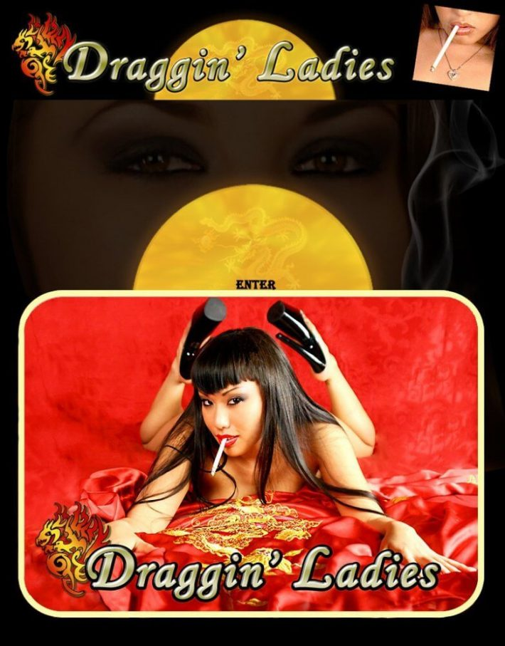 DragginLadies SiteRips, Smoking Fetish of Girls Smoking Movies