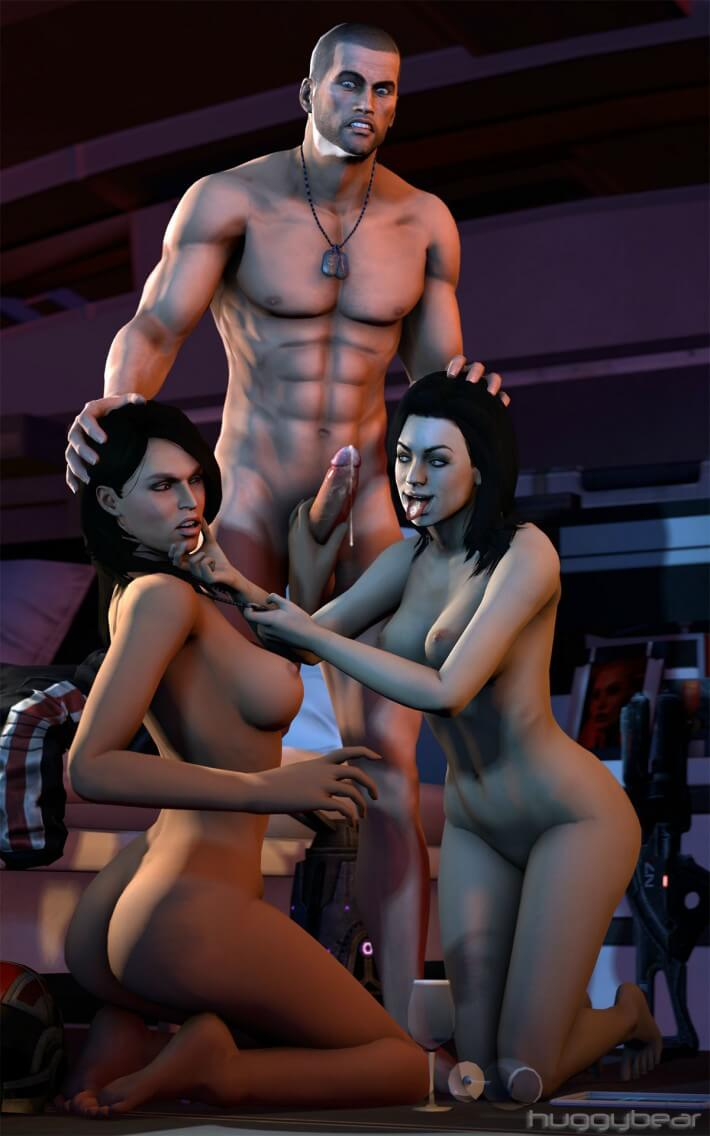 Sorry, that Mass effect fingering porn