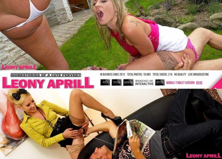 LeonyAprill SiteRip, lesbian peeing porn