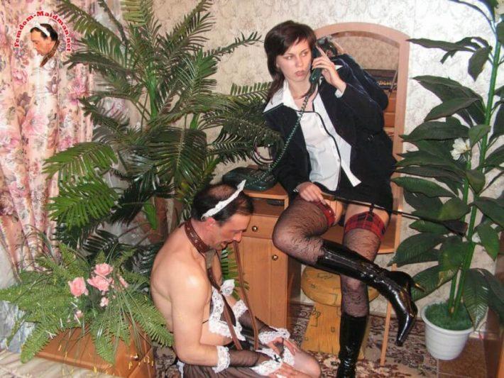 Femdom-Maidman SiteRip, russian mistress